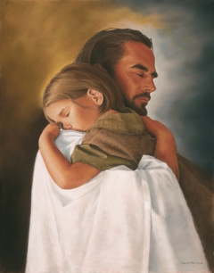 Image result for child on God's lap paintings