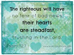 psalm steadfast