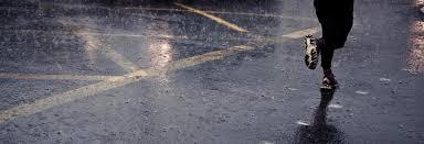 running-rain